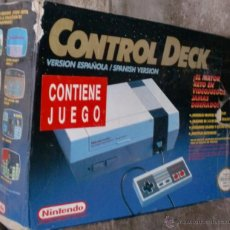 Videojuegos y Consolas: CAJA ORIGINAL DE NINTENDO CONTROL DECK. Lote 105256799