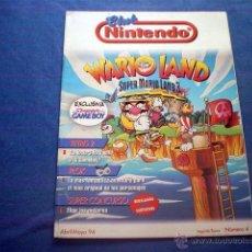 Videojuegos y Consolas: REVISTA CLUB NINTENDO Nº 4 SEGUNDA EPOCA ABR-MAY 1994 WARIO TETRIS PLOK MARIO. Lote 44998786