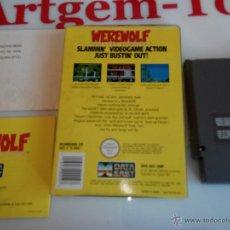 Videojuegos y Consolas: JUEGO PARA LA NINTENDO NES WEREWOLF. Lote 45228925
