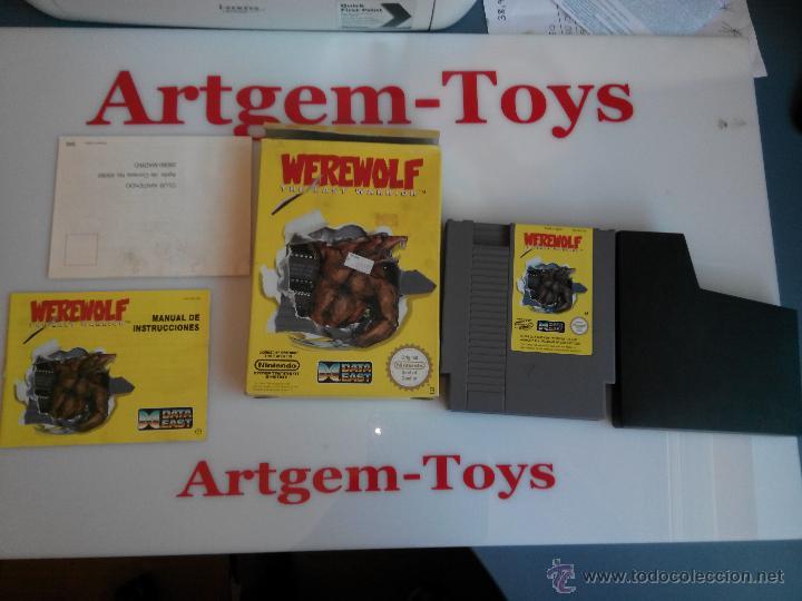 Videojuegos y Consolas: juego para la nintendo nes werewolf - Foto 2 - 45228925