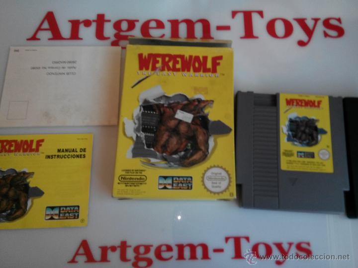 Videojuegos y Consolas: juego para la nintendo nes werewolf - Foto 3 - 45228925
