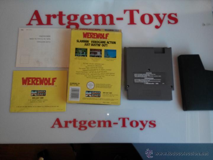 Videojuegos y Consolas: juego para la nintendo nes werewolf - Foto 4 - 45228925