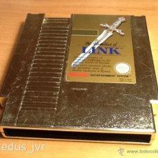 Videojuegos y Consolas: ZELDA II 2 THE ADVENTURE OF LINK JUEGO PARA NINTENDO NES PAL FRA EN BUEN ESTADO. Lote 45290912