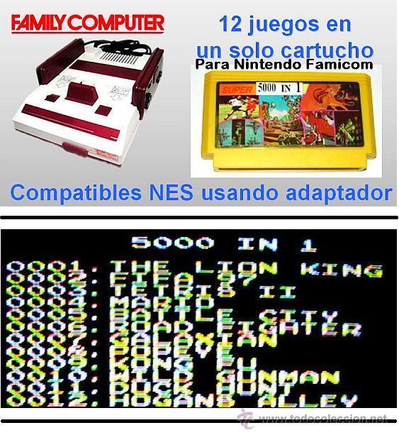 Super 5000 In 1 Compilacion De 12 Juegos Para Comprar