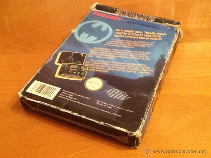 Videojuegos y Consolas: Batman Juego para la Nintendo NES PAL Completo - Foto 3 - 28166628