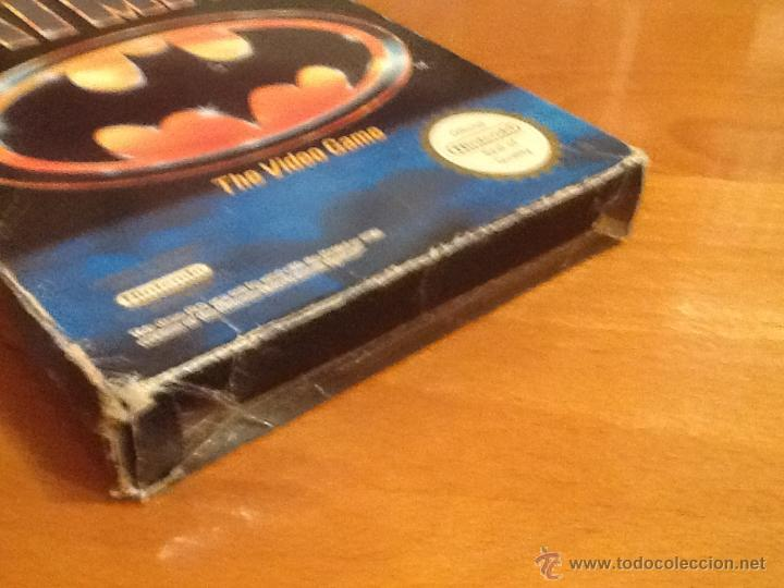 Videojuegos y Consolas: Batman Juego para la Nintendo NES PAL Completo - Foto 4 - 28166628