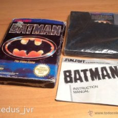 Videojuegos y Consolas: BATMAN JUEGO PARA NINTENDO NES PAL FRG ESPAÑA VERSIÓN ESPAÑOLA COMPLETO. Lote 45602700