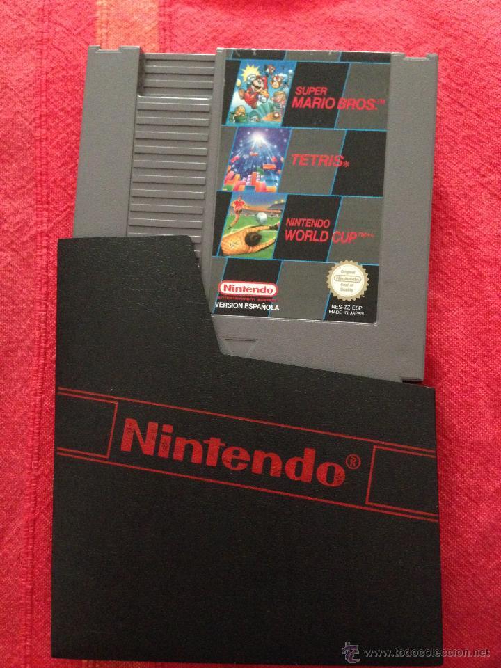 Juego Nintendo Nes Super Mario Bros Tetris Y Wo Comprar