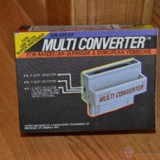 Videojuegos y Consolas: MULTI CONVERTER, DIS-SFC01 SUPER NINTENDO FOR AMERICAN JAPANASE & EUROPEAN EN SU CAJA ORIG. Lote 46536050