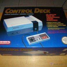 Videojuegos y Consolas: ANTIGUA CONSOLA NINTENDO NES. Lote 124660472