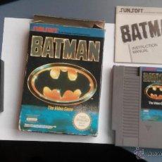 Videojuegos y Consolas: JUEGO PARA LA NINTENDO NES BATMAN. Lote 46773233