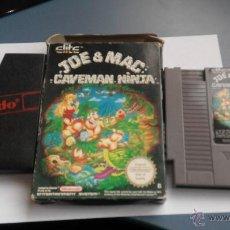 Videojuegos y Consolas: JUEGO PARA LA NINTENDO NES JOE MAC . Lote 46773368