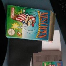 Videojuegos y Consolas: JUEGO PARA LA NINTENDO NES NES OPEN COMPLETO. Lote 46919822