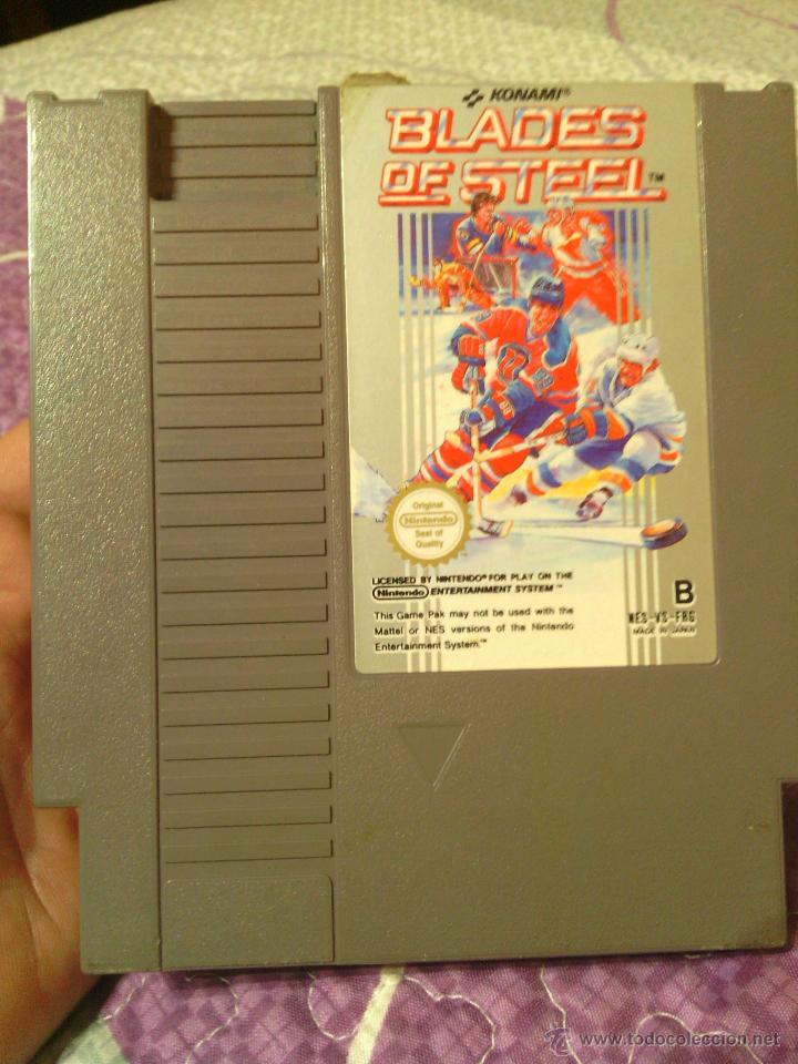 JUEGO NES BLADES OF STEEL (Juguetes - Videojuegos y Consolas - Nintendo - Nes)