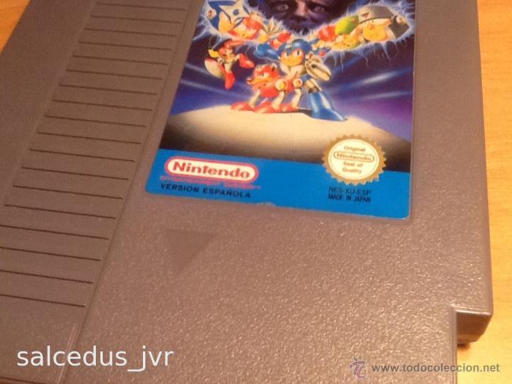 Videojuegos y Consolas: Megaman 3 Mega Man III juego para Nintendo NES PAL ESP ESpaña Versión Española Buen Estado - Foto 2 - 86240943
