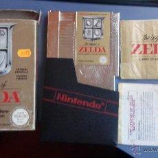 Videojuegos y Consolas: JUEGO PARA LA NINTENDO NES NES ZELDA COMPLETO. Lote 47409855