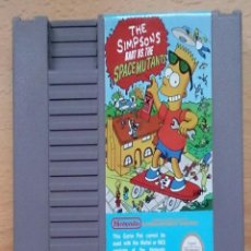 Videojuegos y Consolas: JUEGO NINTENDO NES THE SIMPSONS BART VS THE SPACE MUTANTS. Lote 47636941