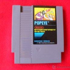 Videojuegos y Consolas: VIDEOJUEGO POPEYE,VERSION EUROPEA NINTENDO NES. Lote 47673106