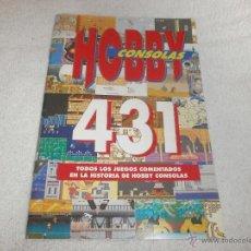 Videogiochi e Consoli: CATALOGO DE 431 JUEGOS HOBBY CONSOLAS. Lote 48373249