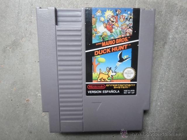 Juego Original Nintendo Nes Duck Dunt Super Mar Comprar