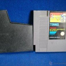 Videojuegos y Consolas: JUEGO TENNIS TENIS NINTENDO NES VERSION ESPAÑOLA. Lote 100828699