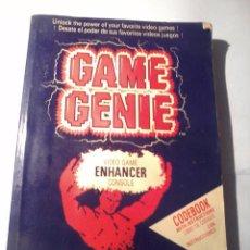 Videojuegos y Consolas: LIBRO. GAME GENIE. VIDEO GAME ENHANCER CONSOLE. LIBRO DE CODIGOS CO INSTRUCCIONES B210. Lote 49465258