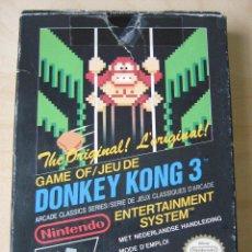 Videojuegos y Consolas: DONKEY KONG 3 - NINTENDO NES - PAL B - COMPLETO. Lote 49704903