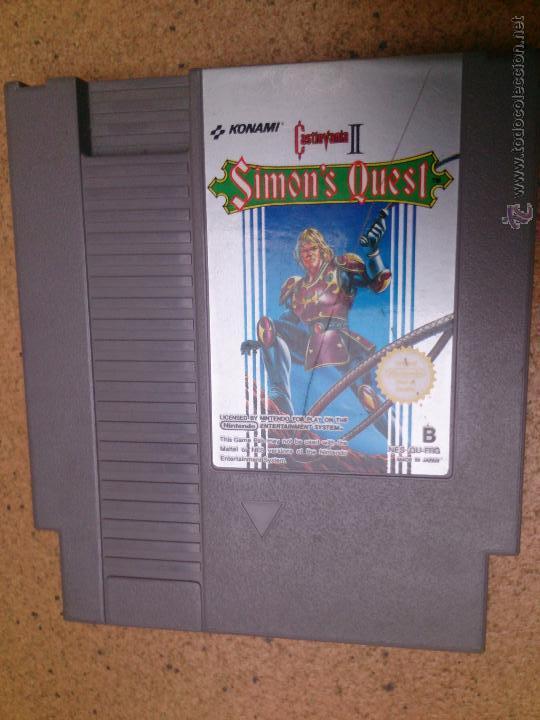 Juego Nintendo Nes Simon S Quest Castlevania Ii Comprar