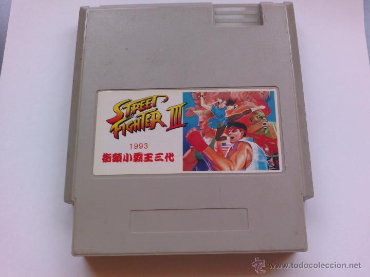 JUEGO PARA NINTENDO NES STREET FIGHTER 3 (Juguetes - Videojuegos y Consolas - Nintendo - Nes)