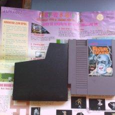 Videojuegos y Consolas: JUEGO PARA NINTENDO NES FESTERS + MANUAL. Lote 49756945
