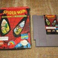 Videojuegos y Consolas: NINTENDO NES ~ SPIDER-MAN RETURN OF THE SINISTER SIX~ PAL / ESPAÑA. Lote 83953975