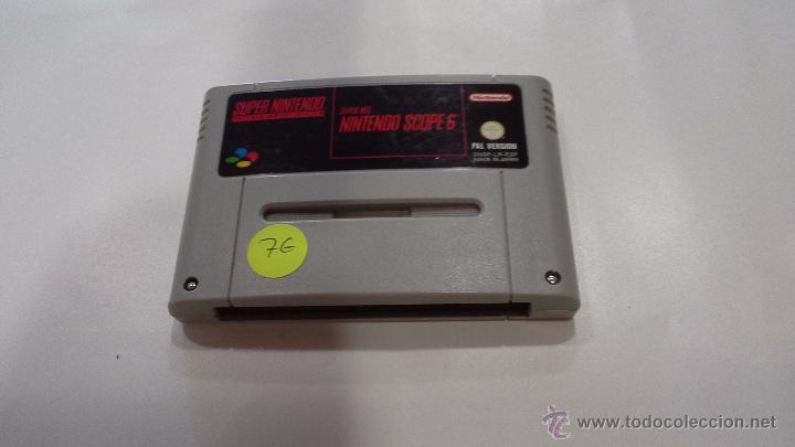 JUEGO DE SUPERNINTENDO SCOPE 6 (Juguetes - Videojuegos y Consolas - Nintendo - Nes)