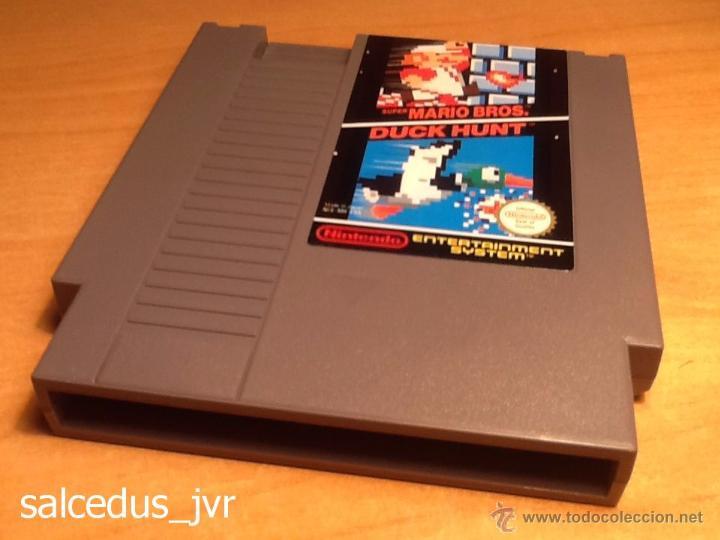 SUPER MARIO BROS + DUCK HUNT JUEGO PARA NINTENDO NES PAL CARTUCHO EN BUEN ESTADO (Juguetes - Videojuegos y Consolas - Nintendo - Nes)