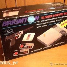 Videojuegos y Consolas: CONSOLA BRIGMTON CLÓNICA DE NINTENDO NES NASA COMPLETA CON EMBALAJE ORIGINAL MUY BUEN ESTADO. Lote 92338587