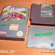 Videojuegos y Consolas: RAD RACER JUEGO PARA NINTENDO NES PAL COMPLETO. Lote 28491899