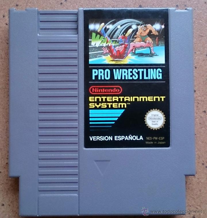 Juego Nintendo Nes Pro Wrestling Comprar Videojuegos Y Consolas