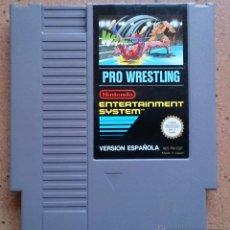 Videojuegos y Consolas: JUEGO NINTENDO NES PRO WRESTLING. Lote 50997331
