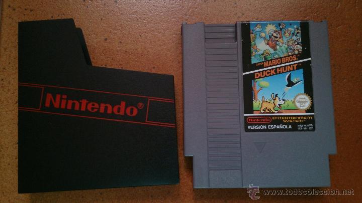 Juego Nintendo Nes Super Mario Bros Y Duck Hunt Comprar