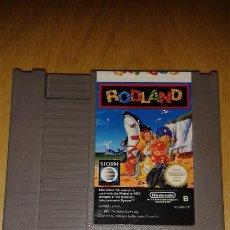 Videojuegos y Consolas: JUEGO NINTENDO NES RODLAND. Lote 52539572