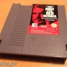 Videojuegos y Consolas: LA CAZA DEL OCTUBRE ROJO NINTENDO NES PAL CARTUCHO EN EXCELENTE ESTADO THE HUNT FOR RED OCTOBER. Lote 52674551