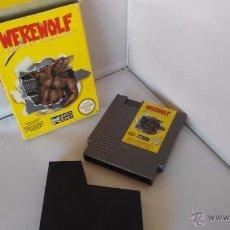 Videojuegos y Consolas: JUEGO NINTENDO NES ORIGINAL AL 100% WEREWOLF. Lote 52896797