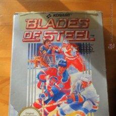 Videojuegos y Consolas: BLADES OF STEEL, HOCKEY, JUEGO PARA NINTENDO NES PAL, COMPLETO VERSIÓN ESPAÑOLA . Lote 53114760