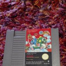 Videojuegos y Consolas: CARTUCHO NINTENDO NES BUBBLE BOBBLE PAL B2 FRG. Lote 53404065