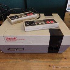 Videojuegos y Consolas: CONSOLA ORIGINAL NINTENDO. AÑO 1987. MODELO NESE-001. Lote 53991495