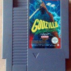 Videojuegos y Consolas: JUEGO PARA NINTENDO NES GODZILLA . Lote 54746412