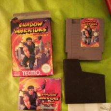 Videogiochi e Consoli: JUEGO NINTENDO NES - SHADOW WARRIORS - COMPLETO. Lote 54832073