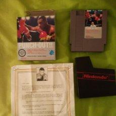 Videojuegos y Consolas: JUEGO NINTENDO NES - PUNCH OUT MIKE TYSON - MUY RARO DE ENCONTRAR. Lote 54832299