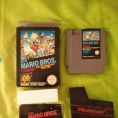 Videojuegos y Consolas: JUEGO NINTENDO NES - SUPER MARIO BROS - COMPLETO. Lote 110658000