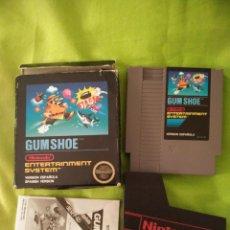 Videojuegos y Consolas: JUEGO NINTENDO NES - GUM SHOE - COMPLETO. MUY RARO DE ENCONTRAR. Lote 54832479