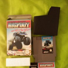 Videojuegos y Consolas: JUEGO NINTENDO NES - BIG FOOT - COMPLETO, CON CAJA. Lote 54832698